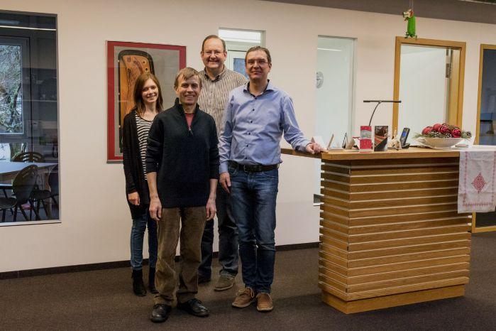 Визит выпускника Квинта-2 на фирму Jahn по вопросу приобретения запчастей немецкого производства для фортепиано